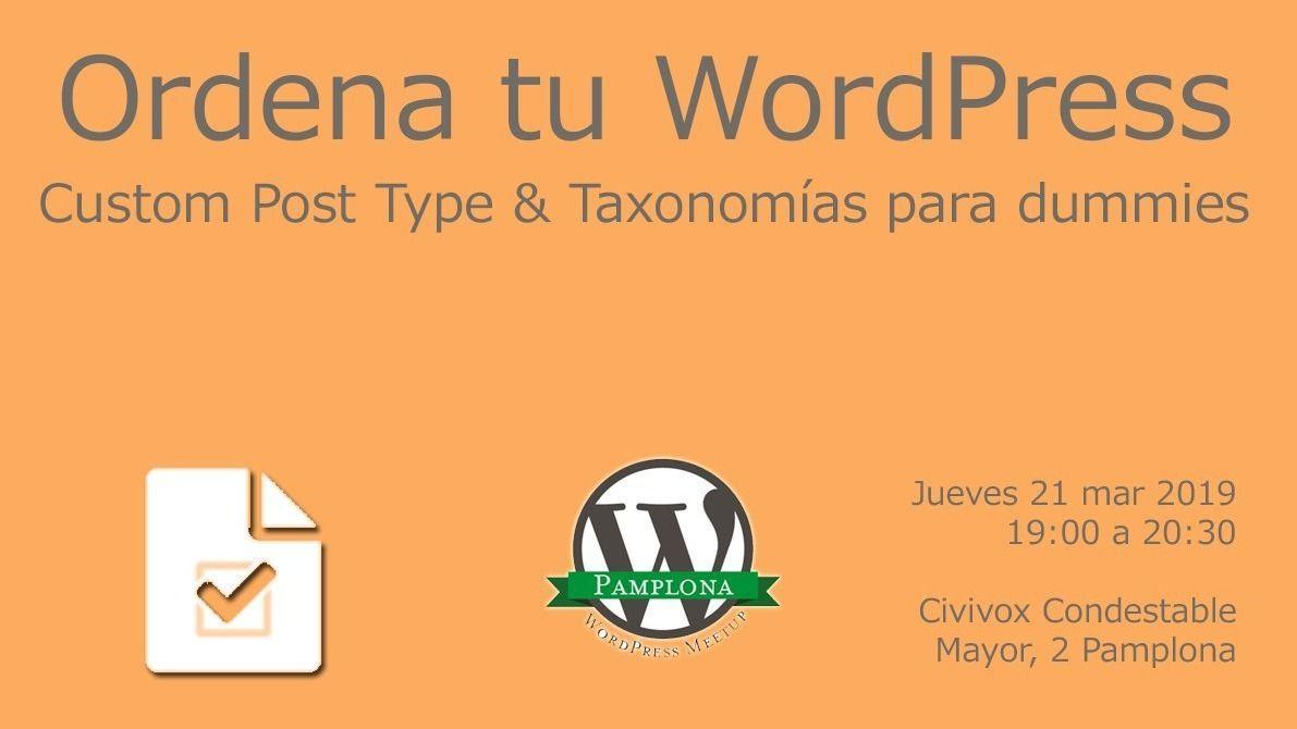 MEETUP WordPress Pamplona